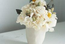 Dried flowers arrangement