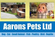 A Bit About Us here at Aarons Pets. / A bit about us, what we do, what we sell, how we can help you. We have two shops, one in Nailsea and one in Clevedon. We are roughly 7 miles from Bristol in the UK. We do offer a local delivery service, please check our website for details.