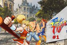 Final Fight 2 (SNES) / Final Fight 2 é um jogo de luta, no estilo beat 'em up, lançado em 1993 exclusivamente para o Super Nintendo ou Super Famicom. Foi produzido pela Capcom e é o segundo game da série Final Fight. Os personagens jogáveis são Mike Haggar (único da versão original), Maki Genryusai e Carlos Miyamoto.