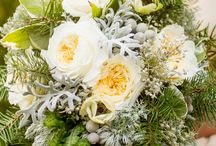 Wintery bouquets