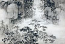 Chinese and japaness paintings