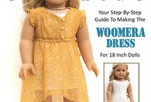 Liberty Jane Clothing / Liberty Jane Clothing designs for 18 inch dolls such as American Girl, Madame Alexander, and more...