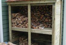 Szopki na drewno