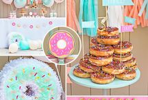 Donut Party / Party tips, tricks and decor for a fabulous donut party!