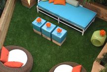 Back yard, front yard, & the spaces in between. / Ideas for my future backyard escape!