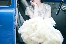 wedding look / dress,hair.makeup / by House of Pinheiro