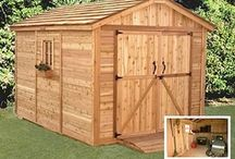 Sheds and storage