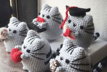 cartoon critters / Crochet creations based on cartoons and fictional characters