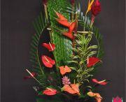 Tropical Arrangements / Tropical arrangements featuring beautiful tropical flowers by beretaniaflorist.com