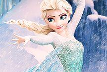 Frozen / Olaf ana Elsa
