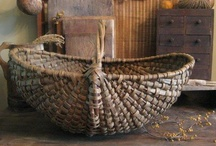 Ribbed baskets, rammekurve, eggbaskets, gondola baskets