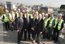 Topping Outs / Topping out ceremonies from some of our Projects