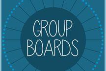 About Group Boards / Board di Gruppo