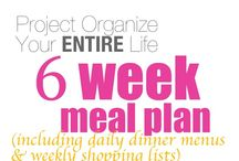 FOOD - #weeks meal plans