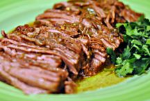 Crock Pot Beef / by Laura Jones