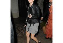 Rachel Bilson Jacket / Rachel Bilson Burberry Prorsum Quilted Jacket.