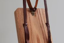 wooden bags