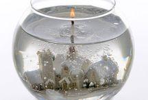 Gelové svíčky