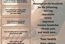 BENEFITS OF MASSAGES