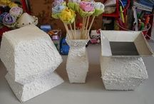 artes com caixas de leite