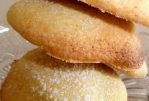 Honeny lemon polenta cookies