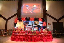 Festa Miraculous: As Aventuras de Ladybug / Festa de 5 anos da Ana Beatriz, com decoração temática do filme  Miraculous: As Aventuras de Ladybug, no Espaço Florescer Eventos - Buffet infantil lúdico na Zona Leste de São Paulo.