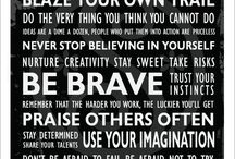Inspiration + Motivation / Word Poetry, Word Art, Inspiring Messages, Motivational Posters
