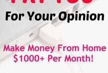 Make Money +Blogging + Motivation