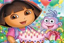 Dhanika Bday Dora theme