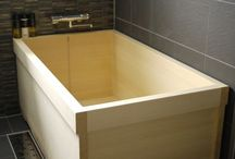 bathroom styles/wood