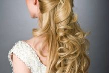 Bridal Hair - Half Up/Half down