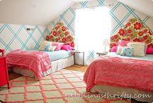 Girl bedrooms / by Ashley Jordan