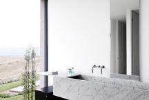Natuursteen, werkbladen, badkamers