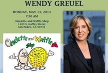 Wendy Greuel for L.A. city Mayor