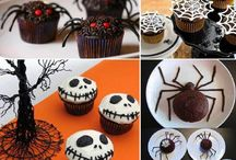 Halloween cakes and candy