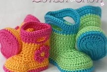 crochet childrens clothes and shoes