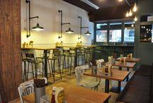 Ourense / Restaurante La Pepita Burger Bar en Ourense Avda. de la Habana, 63   32004 Ourense Teléfono +34 988 619 989