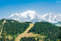 Mountains in Summer / Summer in the French Alps
