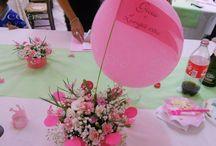 Baby girl decorations / decorazioni party, bomboniere fatto a mano cojaseventi.com https://www.facebook.com/pages/Cojas-Eventi-Wedding-Planner-Sardegna/192376730792148?ref=hl