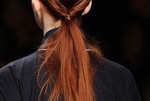 Creative catwalk hair