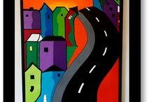 My colourful paintings / watch and be happy :-)..and if you are happy enough..buy one :-D