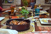 Mirassou Dream Dinner Party Contest  #MirassouDinner / You just know I love throwing dinner parties~and, when there's Mirassou, it's a dinner extravaganza~Boho Style! Most all of these photos are real~~from my entertaining~ xoxo ~peace & nameste~