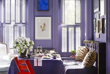 Purple rooms / Purple rooms, furniture and accessories / by Ang Purple