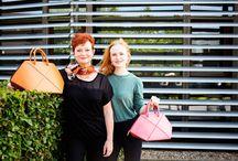 poly / bags -  leather handbags - handtassen - sacs