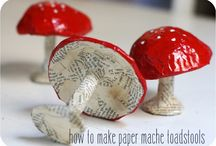 Papier mache/ papper
