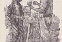 Indische boekjes van Cornelis Jetses en school platen