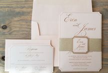Blush and Gold Wedding