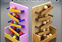 wood cardboard toys