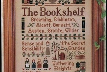 Favorite books crosstitch