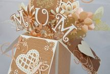 Card in a box / Folded cards